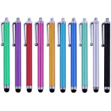 10 Premium Capacitive Stylus iPad iPhone Nexus Tablet Kindle Fire Digital Pen