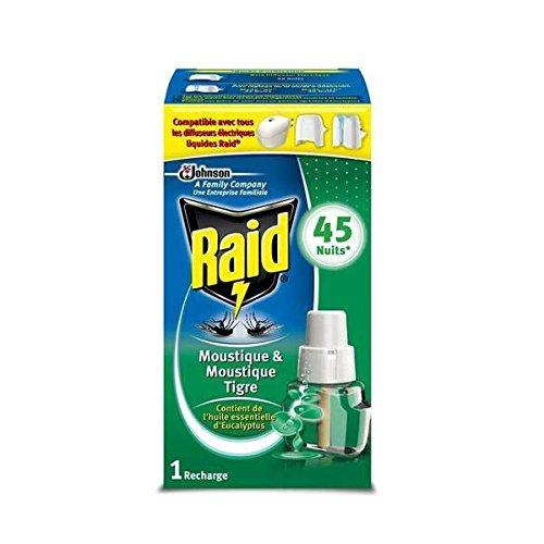 Raid recharge électrique liquide 45 nuits eucalyptus Envoi Rapide Et Soignée (Prix Par Unité )