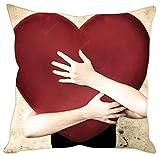 Sleep nature's heart printed Cushion Cover