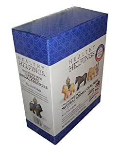 Healthy helpings Natural Animal Crackers 100 Calorie Packs 12 Original and 12 Chocolate