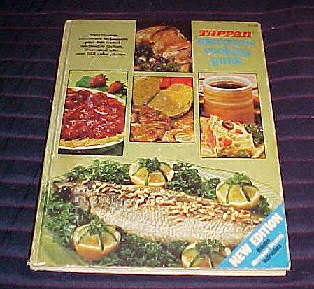 Tappan Microwave Cooking Guide Hardback 1979 by Tappan