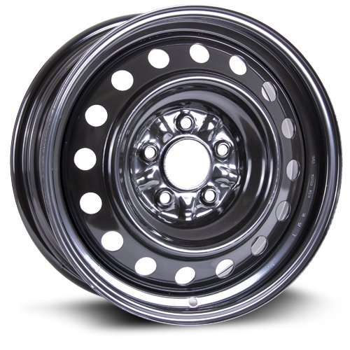 Steel Rim 16X6.5, 5X114.3, 67.1, +40, black finish (MULTI APPLICATION FITMENT) X99154N (Rx8 Spare Tire compare prices)