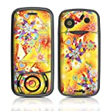 Wall Flower Design Protective Skin Decal Sticker for Pantech Matrix C740 Cell Phone