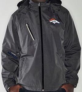 Denver Broncos NFL G-III Elite 8 Full Zip Hooded Premium Performance Jacket by G-III Sports