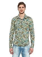 Energie Camisa Hombre Tanek (Multicolor)