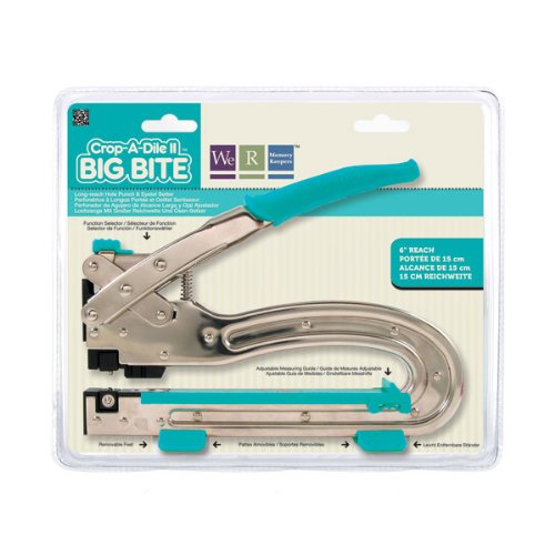 We R Memory Keepers Crop-A-Dile II Big Bite Punch (Big Bite Crop A Dile compare prices)