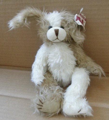 TY Attic Treasures Scruffy the Dog Stuffed Animal Plush Toy - 9 inches tall