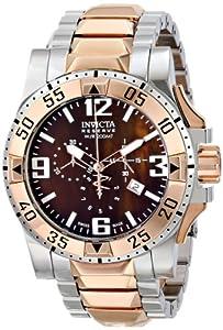 Invicta Men's 80383 Excursion Analog Display Swiss Quartz Two Tone Watch