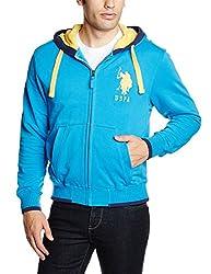 U.S.Polo.Assn. Men's Cotton Sweatshirt (8907259155074_USSS0480_XL_Blithe)