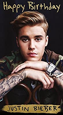 Justin Bieber Happy Birthday Card