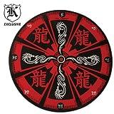 Red Dragon Throwing Target Board