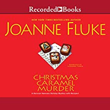 Christmas Caramel Murder Audiobook by Joanne Fluke Narrated by Suzanne Toren