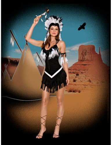 Tribal Princess Md Adult Womens Costume