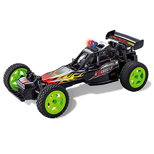 Remote Control Racing Car, Crazy Speed, Aggressive Drifting/Stunts, Powerful Battery, 4 Wheel Shocks (Battery For Car Control Remote compare prices)