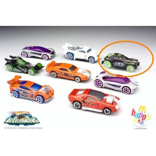 McDonalds Happy Meal Hot Wheels Acceleracers RD 04 Toy