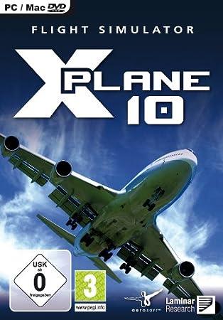 X-PLANE 10 (PC/Mac DVD) [Edizione: Regno Unito]