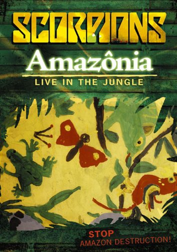 AMAZONIA-LIVE IN THE JUNGLE [DVD]