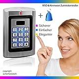 Ber�hrungsloser RFID Codeschloss, T�r�ffner, �ffnen mit RFID Transponder oder (und) Passwort, 125khz, Code Tastatur
