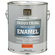 - W66E00814-16 Do it Best Waterborne Industrial Enamel-GLS SAFTY ORNG LTX PAINT