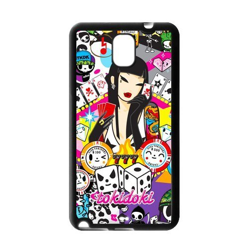 DiyCaseStore Artist Styles Cartoons Tokidoki Lucky 777 Samsung Galaxy Note 3 N900 New Style Durable Case Cover
