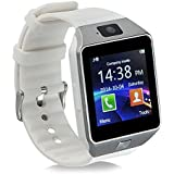 Smart Watch,Berken(TM) DZ09 Bluetooth 4.0 Watch Phone Smart Watch Wrist with Camera Touch Screen for HTC Samsung Galaxy S4/S5/S6/S6 edge Plus, Android Smartphones--White
