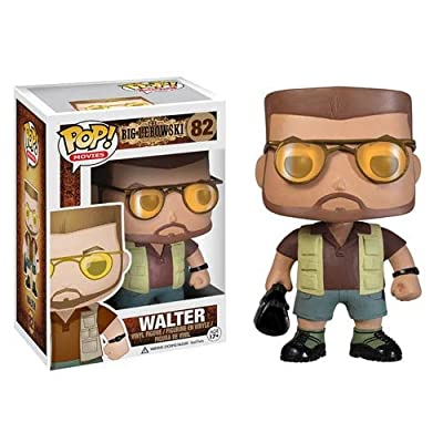 Funko POP Movies The Big Lebowski Walter Vinyl Figure by Funko
