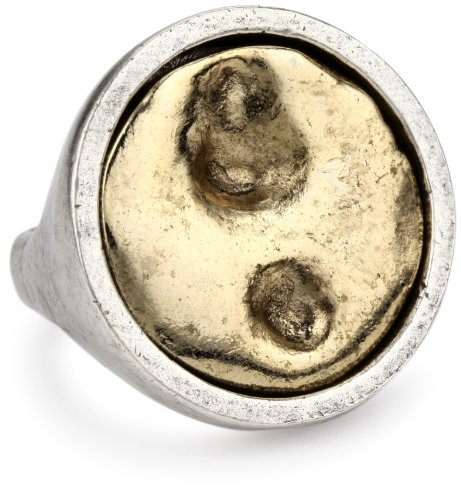 Low Luv by Erin Wasson Coin Ring, Size 7