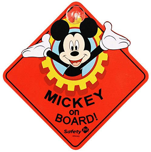 Disney Mickey Mouse On Board Sign