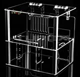MYOPENPC BENCH Monster Transparent Clear Acrylic Test Bench Computer Case for ATX / mATX motherboard, ATX Power Supply, and Big CPU Cooler - PC components are not included