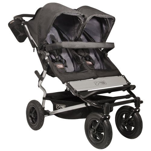 Mountain Buggy 2013 Duet Stroller, Flint