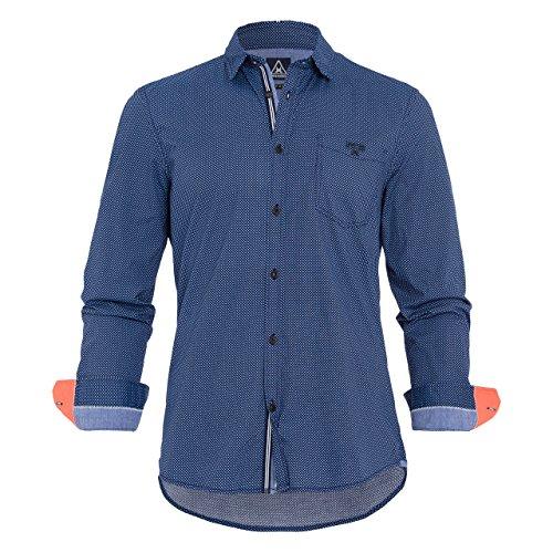 Gaastra 35220562-Camicia Uomo    blu navy XXXL
