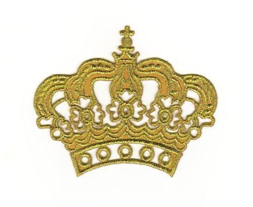 aufnaher-bugelbild-iron-on-patches-applikation-prinzessin-krone-gold
