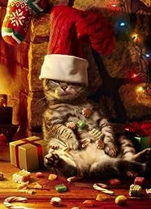 Amazon.com : Tarjetas de Navidad, Too Many Treats, 10-Conde : Office