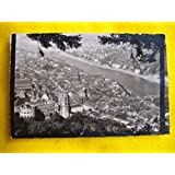 Antigua Postal - Old Postcard : Blick vom Rindenhäuschen auf Schlob u.Stadt Heidelberg - ALEMANIA