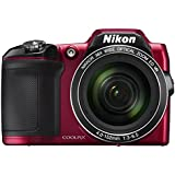 NIKON  L840 RED 16.1Digital Camera with 3.0-Inch TFT LCD (Red)