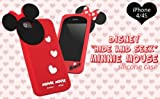 Disney Mickey Mouse Hide and Seek Silicone Case for iPhone 4S/4