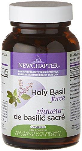 New Chapter Holy Basil Force, 120 Veg caps