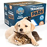 Super Absorbent Xl Puppy Pads By Petsbond, 30pcs, Size 35.5 X 23.5 Inches, Breathable for Side Leakproof The best Training Pad