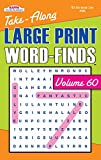 Take-Along Large Print Word Find Puzzle Book-Vol.60