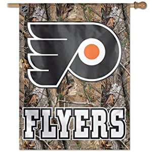 NHL Philadelphia Flyers 27-by-37-Inch Vertical Flag Real Tree