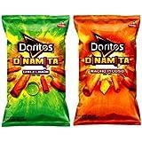 Doritos Dinamita Chile Limon & Nacho Picoso Rolled Combo Flavored Tortilla Chips Set