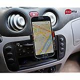 BrainWizz® CD Player - Soporte universal para tu Smartphone-CD! IPhone 3G 4S y 5, 5S / Samsung Galaxy S3 y S4 y S5 / HTC One / Sony Xperia / Nokia / LG / Garmin y TomTom GPS y todos los smartphones a 85 mm de anchura