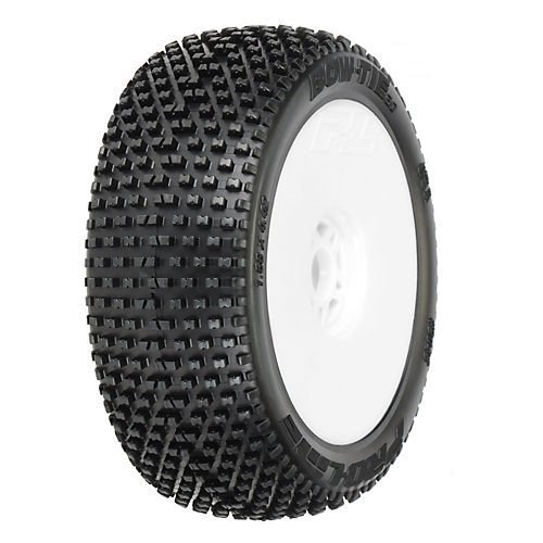 1/8 Bow-Tie 2.0 X3 OffRd LTWT Velocity Whl,Wht:BX by Pro-Line (Proline Bowtie Tires Mounted compare prices)
