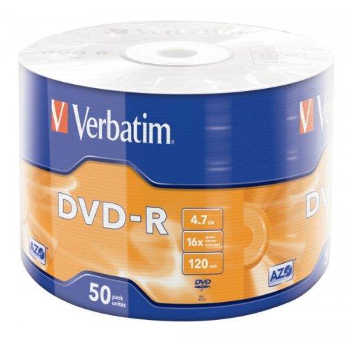 Spindle de 50 DVD-R 4,7 Go 16x - surface argent mat
