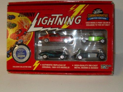 Johnny Lightning Commemorative Limited Edition 4 Car Set Set B - 1