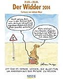 Der Widder im Jahr 2014: Sternzeichen-Cartoonkalender