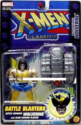 X-men Classics Battle Blasters Battle Ravaged Wolverine Figure