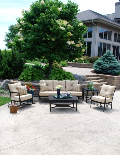 Aria St. Martin 5 Piece Outdoor Seating Group