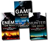 Tom Wood Victor the Assassin Series Collection Tom Wood 3 Books Set (The Game, The Enemy, The Hunter)