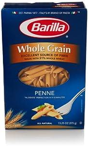 Barilla Whole Grain Penne Pasta, 13.25 Oz